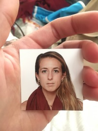 New passport pic! In Tanzania, they will NOT allow you to smile for passport pics or any kind of ID pics. I tried, and they said absolutely not. haha!