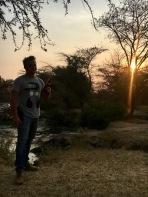 Sunset - Hippo ponf