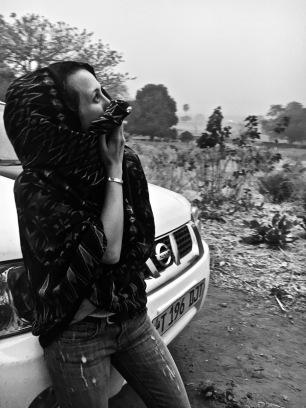 Dust storm - Rukwa Valley