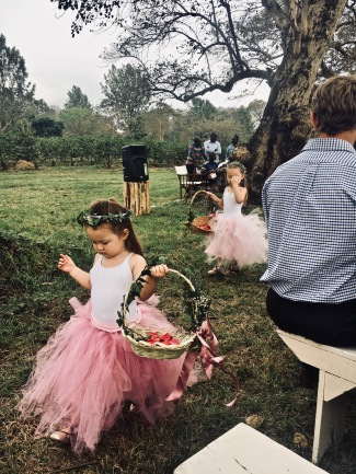Flower girls...too cute!