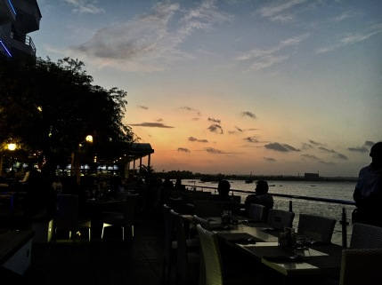 Sunset in Dar