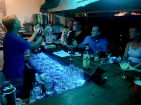 Margarita making contest on NYE - Lake Shore Lodge - Tanganyika