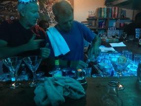 Margarita making contest on NYE - Lake Shore Lodge - Tanganyika