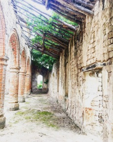 Old mission ruins-Lake Tanganyika