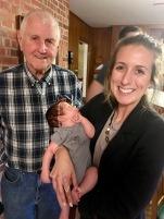 Grandpa + niece