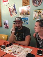 awesome little diner where you order via a phone