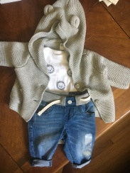 Cutest outfit for our little baby!