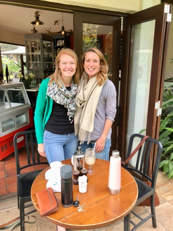 Catching up with good friends - Arusha