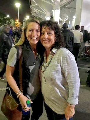 With my mom! - Kenya